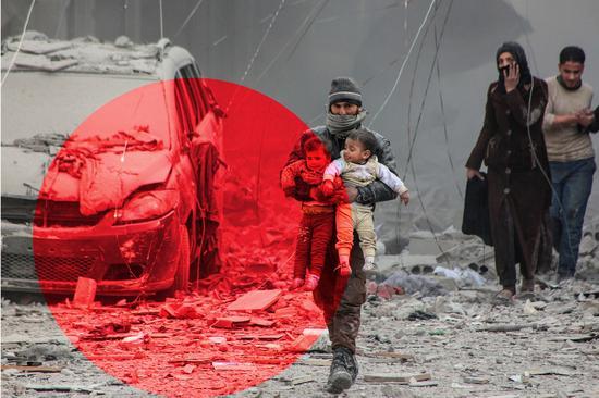 """""""哨兵""""空袭预警app预测何时何地会发生空袭,救了很多叙利亚平民!"""