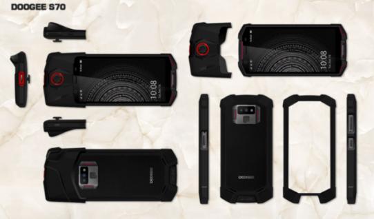 Doogee发布游戏手机S70 外型神似小米黑鲨手机