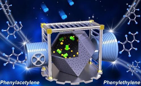 新型亚微米反应器,实现了苯乙炔加氢高选择性地制取苯乙烯