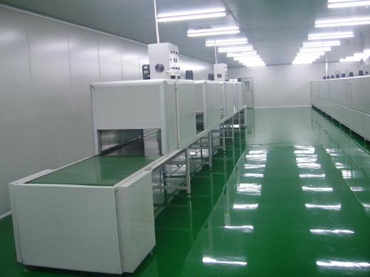洁净室工程的内装部分施工规范