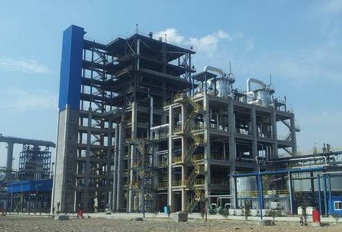 采用四喷嘴对置式水煤浆加压气化技术的气化装置