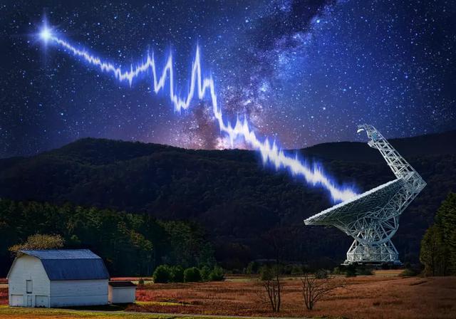 SETI发现来自30亿光年外72个神秘无线电信号