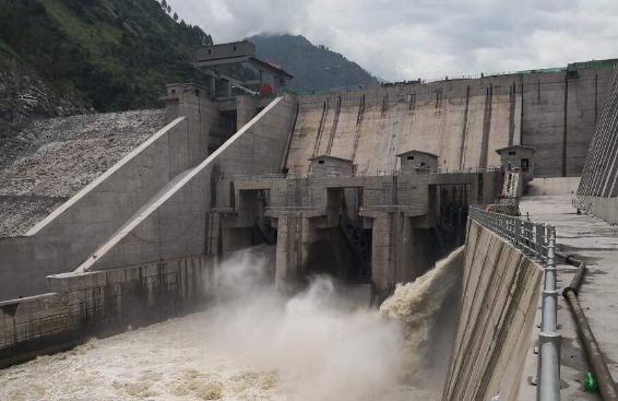 巴基斯坦尼杰水电站首台机组移交