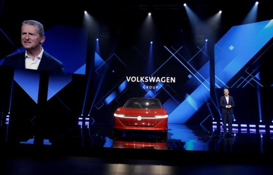 大众汽车新任CEO赫伯特·迪丝(Herbert Diess):计划生产1000万辆电动汽车