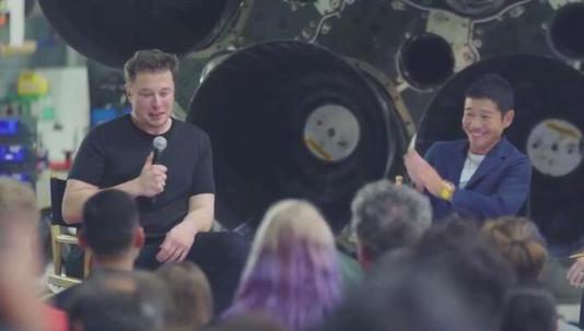马斯克或将与日本亿万富翁同行2023年的环月旅行会