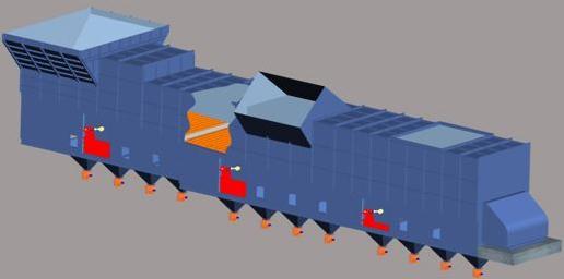 第四代推动棒式冷却机冷却效率降低的原因与对策