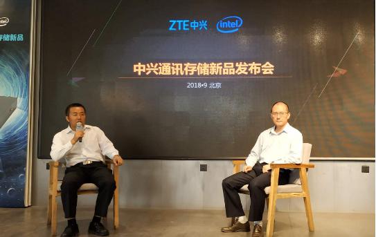 郭树波表示技术成熟有助推动中兴布局高端存储