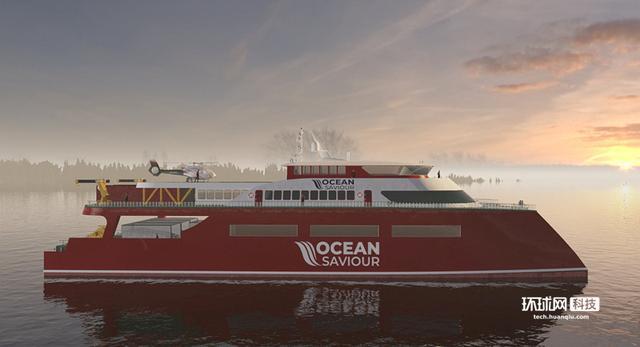 """""""海洋救星""""清洁船以塑料为食,40年内清理太平洋!"""