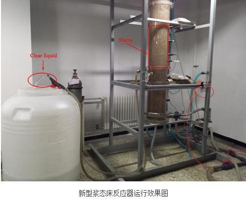 新型浆态床反应器:可利用内环流反应器的循环动力实现了液固分离