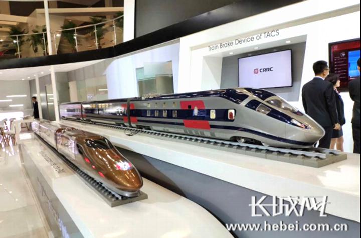 中车唐山公司推出时速500公里可变编组动车组概念车