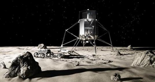 SpaceX签订新合同将为Ispace公司部署两台月球车