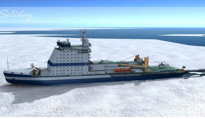 """俄新型核动力破冰船""""乌拉尔""""反应堆性能显著提升"""