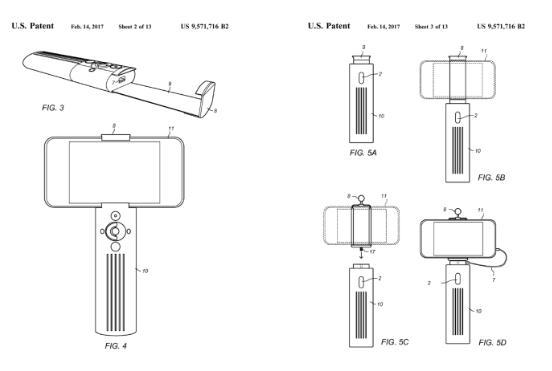 Deraltech起诉小米公司侵犯其自拍杆专利,原告却是山寨网站NIS