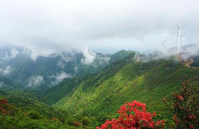 南方最大高山风电基地落户广西兴安
