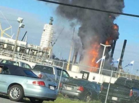 加拿大炼油厂爆炸系欧文(Irving)石油公司