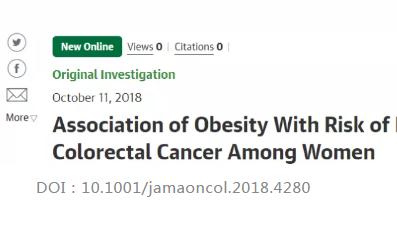 JAMA肿瘤:饮食、锻炼抵挡癌症年轻化