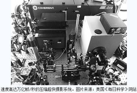 """新濠天地娱乐平台官网上最快的照相机""""T-CUP"""":几乎可以让时间""""凝固"""""""