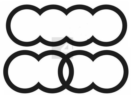 奥迪申请新Logo 遭海外网友吐槽