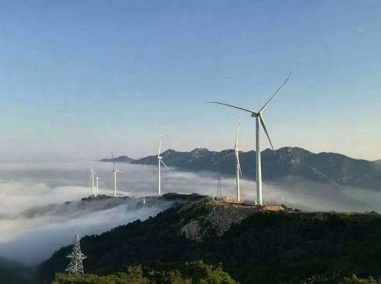 三峡新能源河南社旗二期48兆瓦风电项目首批机组顺利并网发电