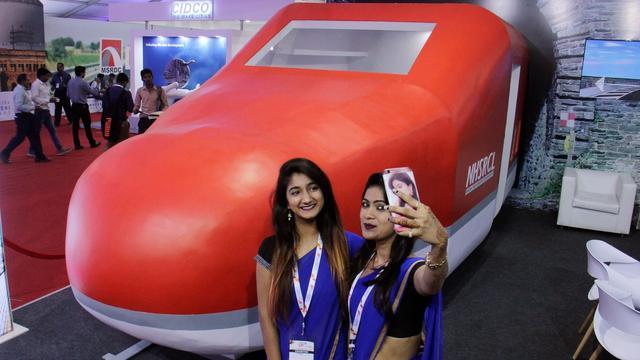 印度首条高铁因征地困难而陷入困境,1400公顷土地只征得了0.9公顷