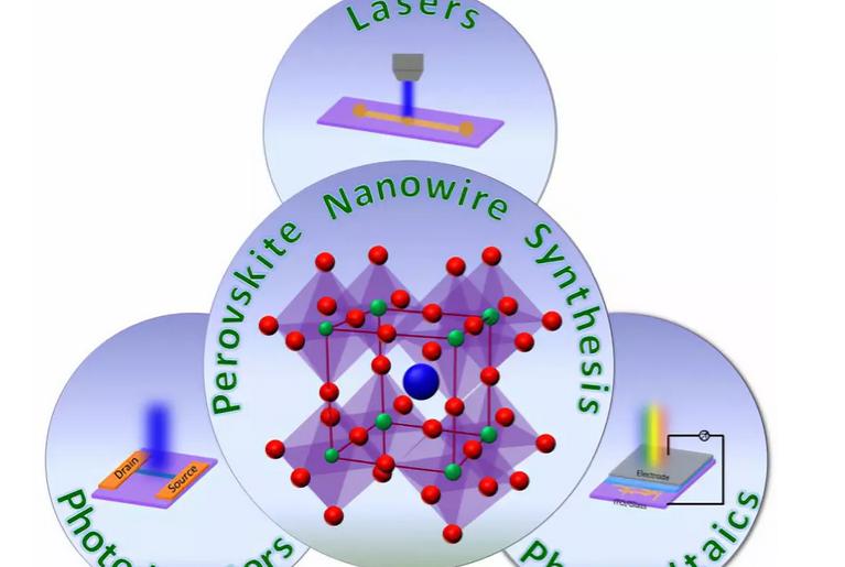 金属卤化物钙钛矿纳米线的可控制备与光子学应用