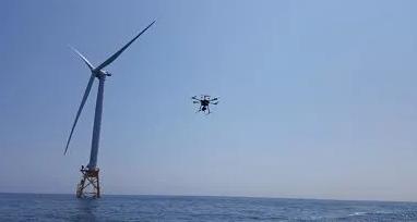 美国海上风电公司已部署无人机技术用来检查
