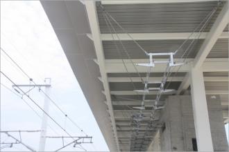 扛风耐腐蚀新压型金属板用于高铁站