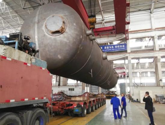 防城港3号核电机组除氧器制造完工发运
