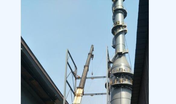 北京晨晰环保回转窑烟气脱硫项目成功验收