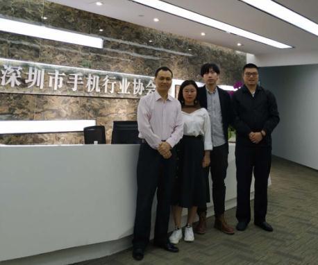 广东国际电子展组委会拜访松下、众拓自动化、深圳市手机行业协会