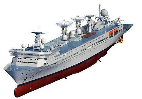 航天远洋测量船:远望5号船顺利完成船舶动力试航