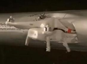 美国大学模拟在238英里/小时下大疆无人机与M20飞机冲撞