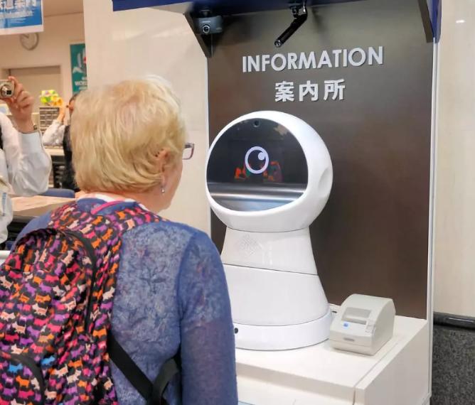 日本成功开发指导AI机器人并在大阪车站进行试点实验