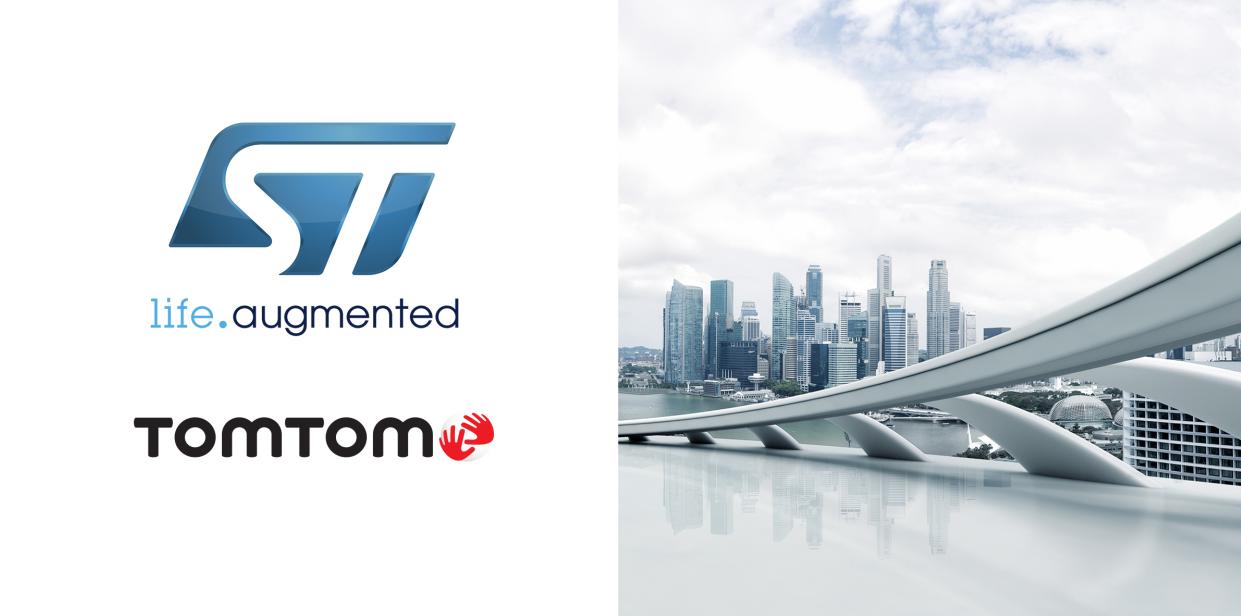 TomTom和意法半导体合作推出创新级地理定位工具