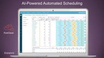 Genesys推出人工智能预测与排班劳动力管理应用,提升工作效率与业务绩效