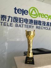泰力表示:要打造中国大型的电池回收平台