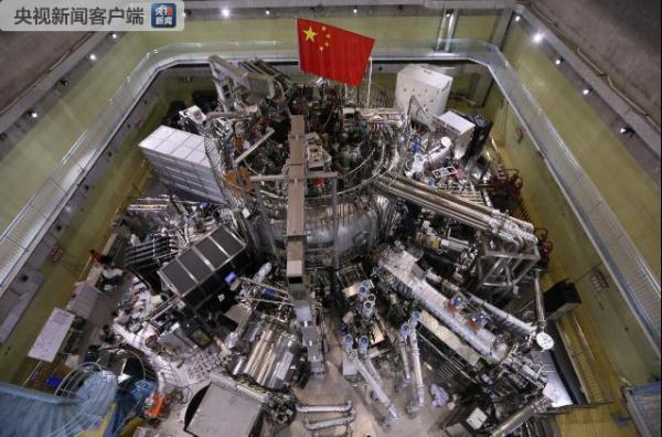 中国人造太阳温度首次达到1亿度运行