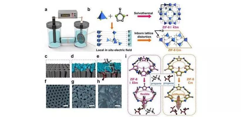 王海辉教授团队:一种电化学快速制备ZIF-8膜的新方法