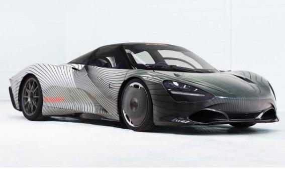 迈凯伦全新旗舰Speedtail原型车Albert已完工 将开启路试