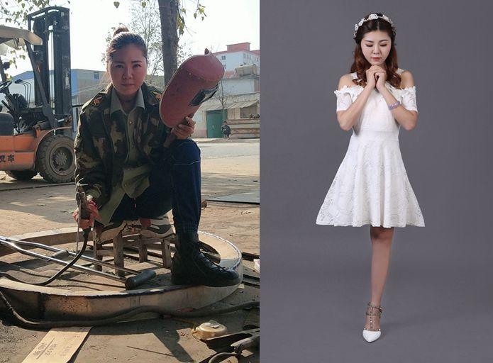 罗雨:独腿女孩当电焊工是怎么回事,被男生表白超300次都被一一回绝
