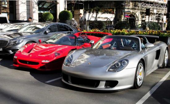 伦敦成为全球超级跑车之都