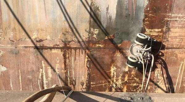 除锈爬壁机器人:浙江大学、金海智造等联合研制