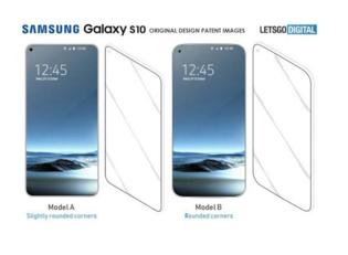 三星S10被曝采用零边框OLED显示屏:屏下藏摄像头和传感器