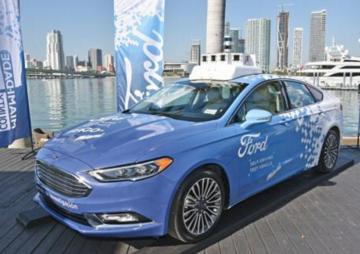 福特计划在2021年前推出自动驾驶网约车和快递业务