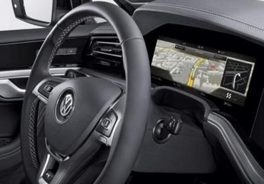 博世推出首个可用于汽车仪表的曲面屏,能模仿人眼曲率