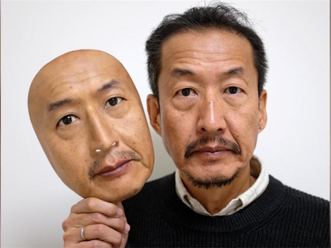 日本农村小公司生产的超真人皮面具受到国内及远至沙特国家的追捧