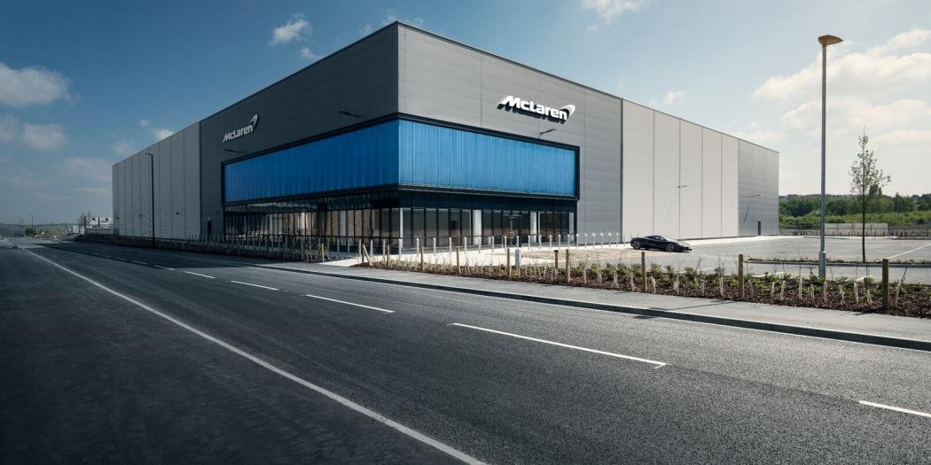 迈凯伦投资6500万美元在英国约克郡建造全新迈凯伦复合材料技术中心