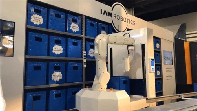 IAM筹集2000万美元开发产品Swift物流机器人,能准确拣货并放入包装箱