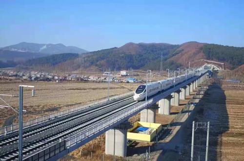 哈牡高铁试运行:预计年末开通运营