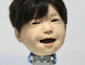 大阪大学研发团队开发出能够真实呈现人脸表情的智能机器人